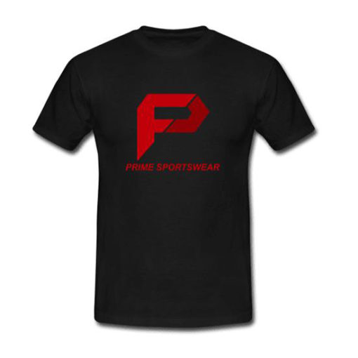 Picture 1- Front Mens Tshirt Black