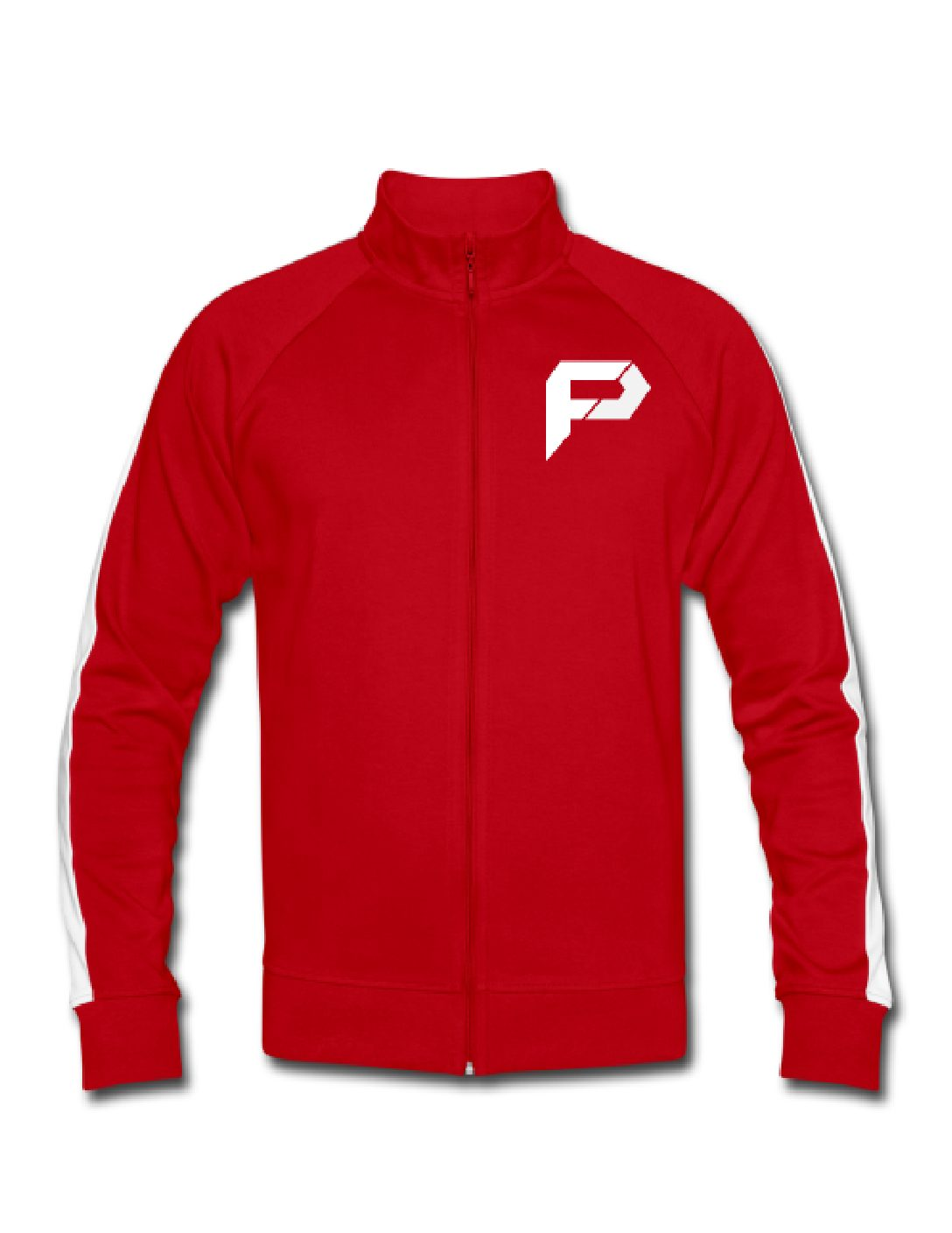 Mens Track top Red Front (3)